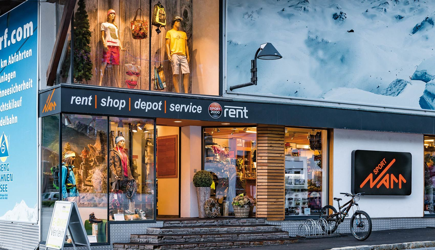 Sport Shop in See, rent . shop . depot . service